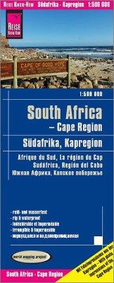 Reise Know-How Landkarte Südafrika Kapregion / South Africa, Cape Region (1:500.000); Afrique du sud, la région du cap.