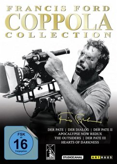 Francis Ford Coppola Collection DVD-Box - Brando,Marlon/Ford,Harrison