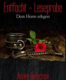 Entfacht - Leseprobe (eBook, ePUB)