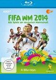 FIFA WM 2014 - Alle Spiele der deutschen Mannschaft (4 Blu-ray Discs)