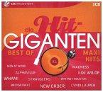 Best of Maxi Hits, 3 Audio-CDs / Die Hit-Giganten, Audio-CDs