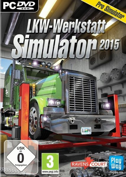 lkw werkstatt simulator 2015 pc spiel. Black Bedroom Furniture Sets. Home Design Ideas
