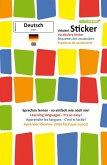 mindmemo Vokabel Sticker - Grundwortschatz Deutsch (DaF) / Englisch - 280 Vokabel Aufkleber - Zusammenfassung