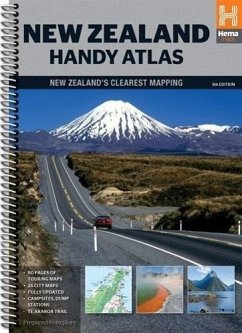 New Zealand Handy Atlas 1 : 434.000
