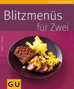 Blitzmenüs für zwei (Mängelexemplar) - Proebst, Margit