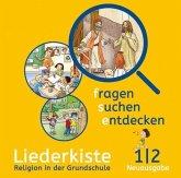 1./2. Jahrgangsstufe, Liederkiste, 1 Audio-CD / fragen - suchen - entdecken, Neue Ausgabe Bayern