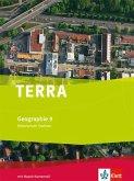 TERRA Geographie für Sachsen - Ausgabe für Mittelschulen/Oberschulen / Schülerbuch 9. Schuljahr
