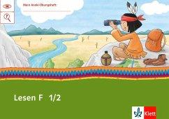 Mein Indianerheft. Lesen F 1/2