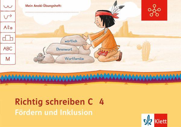Mein Indianerheft Richtig Schreiben C Fördern Und Inklusion