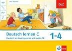 Oscar. Deutsch lernen C. Deutsch als Zweitsprache. Arbeitsheft 1.-4. Schuljahr