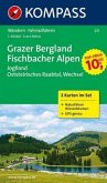 KOMPASS Wanderkarte Grazer Bergland - Fischbacher Alpen