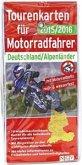 Tourenkarten für Motorradfahrer Deutschland/Alpenländer 2015/2016
