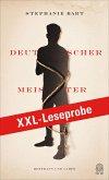 XXL-LESEPROBE: Bart - Deutscher Meister (eBook, ePUB)