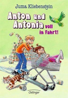 Buch-Reihe Anton und Antonia von Juma Kliebenstein