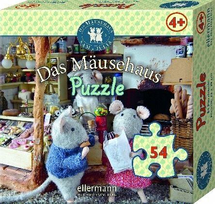 das m usehaus puzzle beim einkaufen kinderpuzzle bei. Black Bedroom Furniture Sets. Home Design Ideas