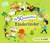 Die 50 schönsten Kinderlieder, 3 Audio-CDs