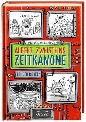 Buch-Reihe Albert Zweisteins Zeitkanone von Heiko Wolz