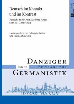 Deutsch im Kontakt und im Kontrast