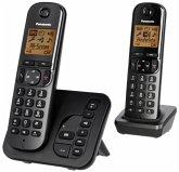 Panasonic KX-TGC222GB sz Telefon schnurlos schwarz