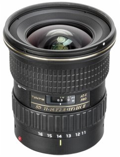 Tokina AT-X 2,8/11-16 Pro C/AF DX II Zoom-Objektiv für Canon (77 mm Filtergewinde, APS-C Sensor)