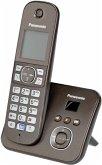 Panasonic KX-TG6821GA mocca Telefon schnurlos braun