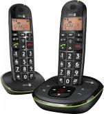 Doro PhoneEasy 105 WR Duo Telefon schnurlos schwarz