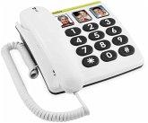 Doro PhoneEasy 331 PH Telefon schnurgebunden weiß