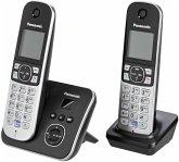 Panasonic KX-TG6822GB Telefon schnurlos schwarz