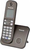 Panasonic KX-TG6811GA mocca Telefon schnurlos braun