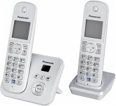 Panasonic KX-TG6822GS Telefon schnurlos perlsilber