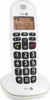 Doro PhoneEasy 100 W Telefon schnurlos weiß