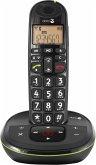 Doro PhoneEasy 105 WR Telefon schnurlos schwarz
