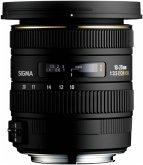 Sigma EX 3,5/10-20 DC HSM N/AF Zoom-Objektiv für Nikon (82 mm Filtergewinde, APS-C Sensor)