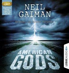 American Gods, 3 MP3-CDs - Gaiman, Neil