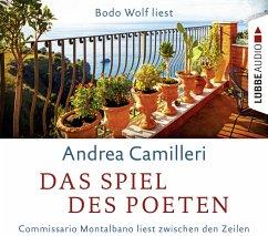 Das Spiel des Poeten / Commissario Montalbano Bd.16 (4 Audio-CDs) - Camilleri, Andrea