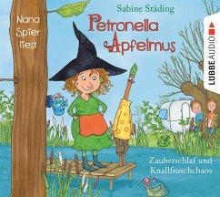 Zauberschlaf und Knallfroschchaos / Petronella Apfelmus Bd.2 (2 Audio-CDs) - Städing, Sabine