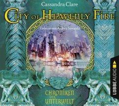 City of Heavenly Fire / Chroniken der Unterwelt Bd.6 (6 Audio-CDs) - Clare, Cassandra