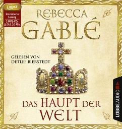 Das Haupt der Welt / Otto der Große Bd.1 (2 MP3-CDs) - Gablé, Rebecca