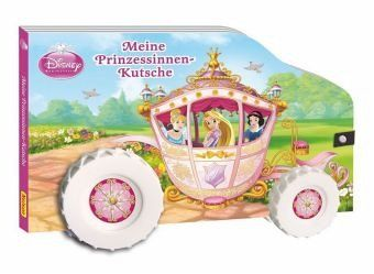 disney prinzessin meine prinzessinnen kutsche buch. Black Bedroom Furniture Sets. Home Design Ideas