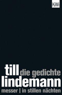 Die Gedichte - Lindemann, Till