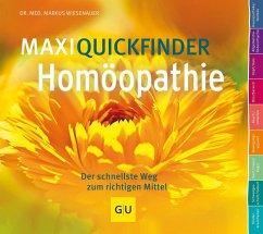 MaxiQuickfinder Homöopathie - Wiesenauer, Markus