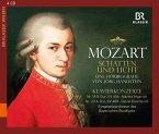 Mozart - Schatten und Licht, 4 Audio-CDs