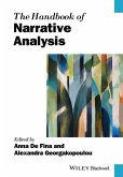 The Handbook of Narrative Analysis