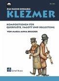 Klezmer - Das kleine Ensemble, für Querflöte, Fagott und Begleitung, m. Audio-CD