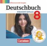 Deutschbuch 8. Schuljahr. Übungs-CD-ROM zum Arbeitsheft. Zu allen differenzierenden Ausgaben