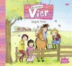 Saugute Ferien / Die frechen Vier Bd.2 (Audio-CD)