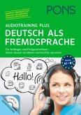 PONS Audiotraining Plus Deutsch als Fremdsprache, MP3-CD + Begleitbuch