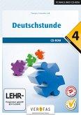 Deutschstunde, 4. Klasse NMS / HS / AHS, Übungs-CD-ROM mit Lösungen