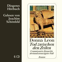 Tod zwischen den Zeilen / Commissario Brunetti Bd.23 (7 Audio-CDs) - Leon, Donna