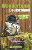 Wanderbuch Deutschland (Mängelexemplar)